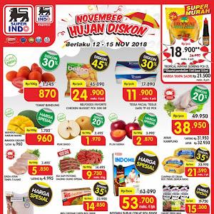 Katalog Promo SUPERINDO Awal Pekan Weekday 12 - 15 November 2018