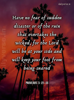 DAILY BIBLE VERSE FOR COMFORT