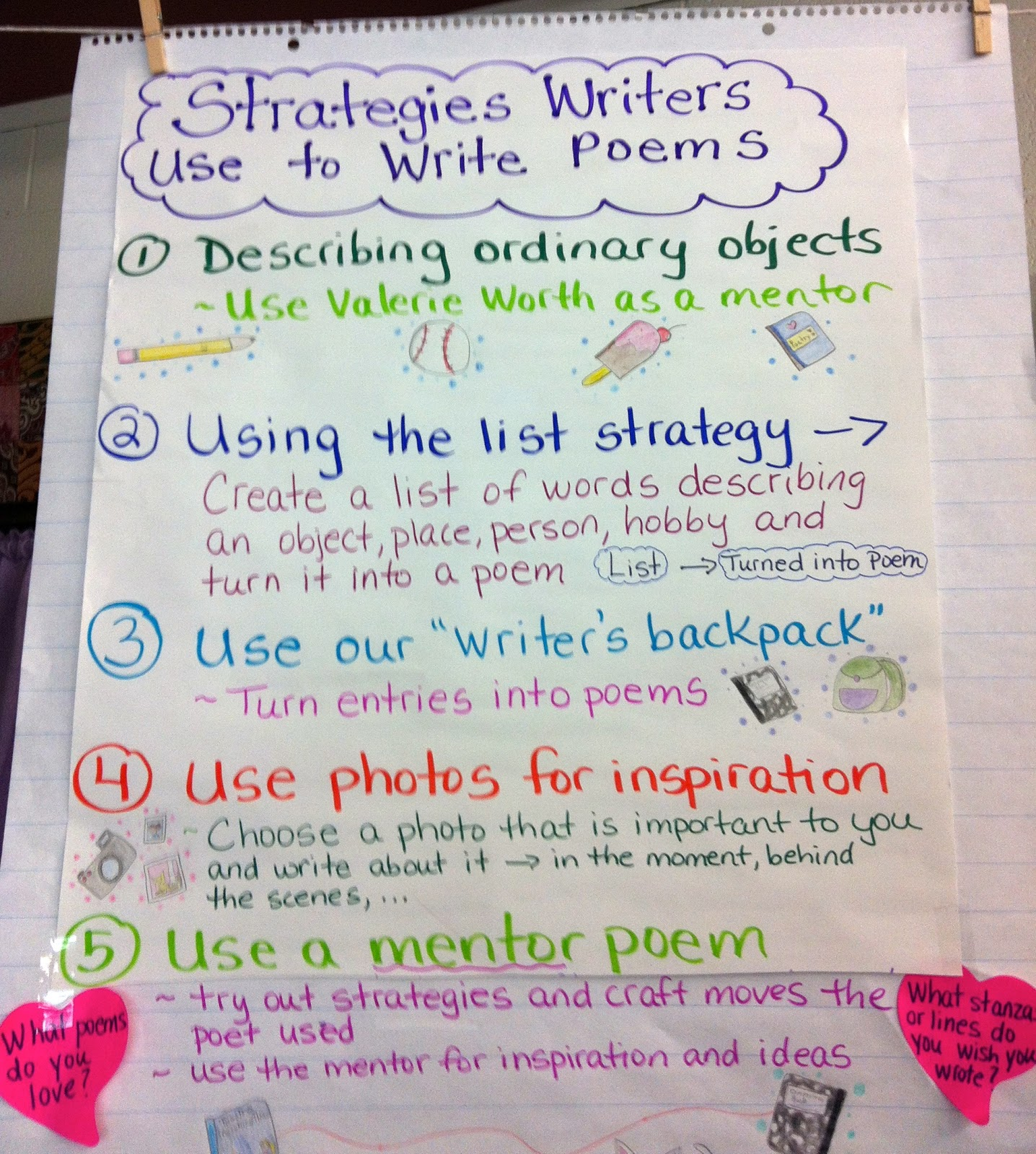 Two Reflective Teachers Poetry Writing In Our Classroom