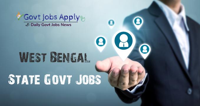 West Bengal Govt Jobs