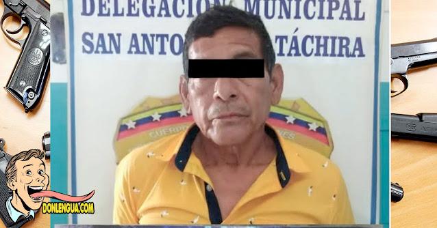 Chavista capturado haciéndole cosas horribles a una menor de 7 años en Táchira