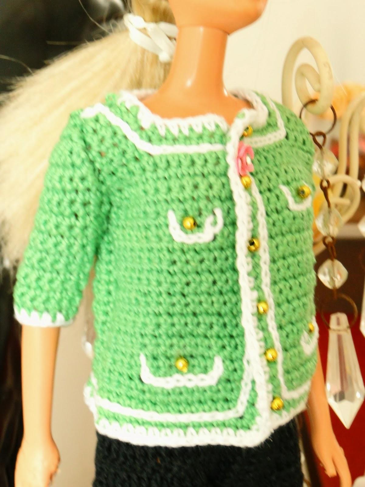 Aparador Bar Bechara ~ Barbie Croch u00ea Miniaturas Artesanato e Coisas Mais Passo a Passo em Portugu u00eas de Casaco de
