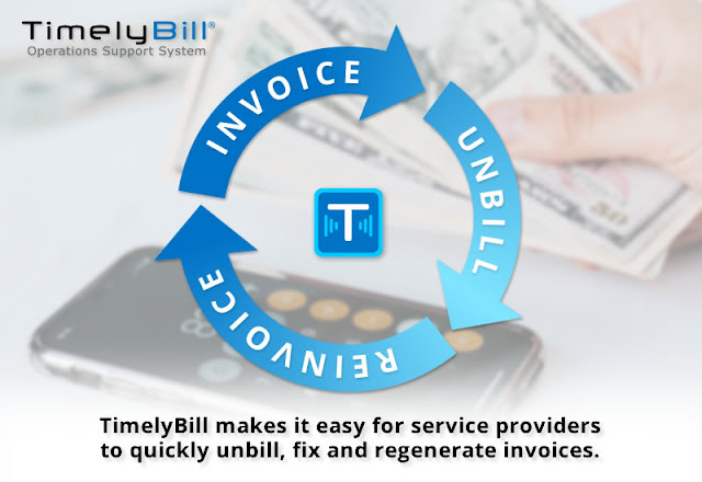 Cancel and Rebill an Invoice in TimelyBill