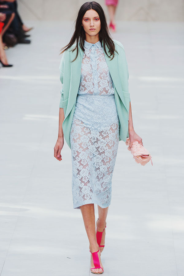 Burberry Prorsum Spring 2014 London Fashion Week