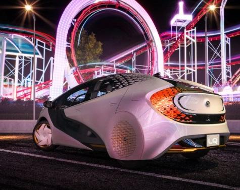 Desain Belakang Toyota LQ