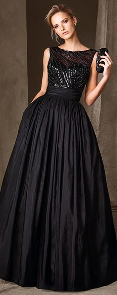 Vestido elegantes negros