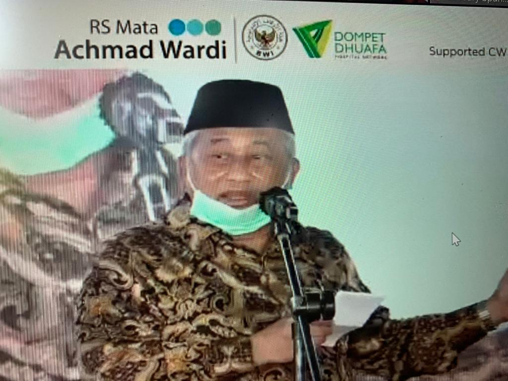 Wakil Presiden Resmikan Retina dan Glaukoma Center, Mohammad Nuh: Wakaf Menyelamatkan Dunia Akhirat