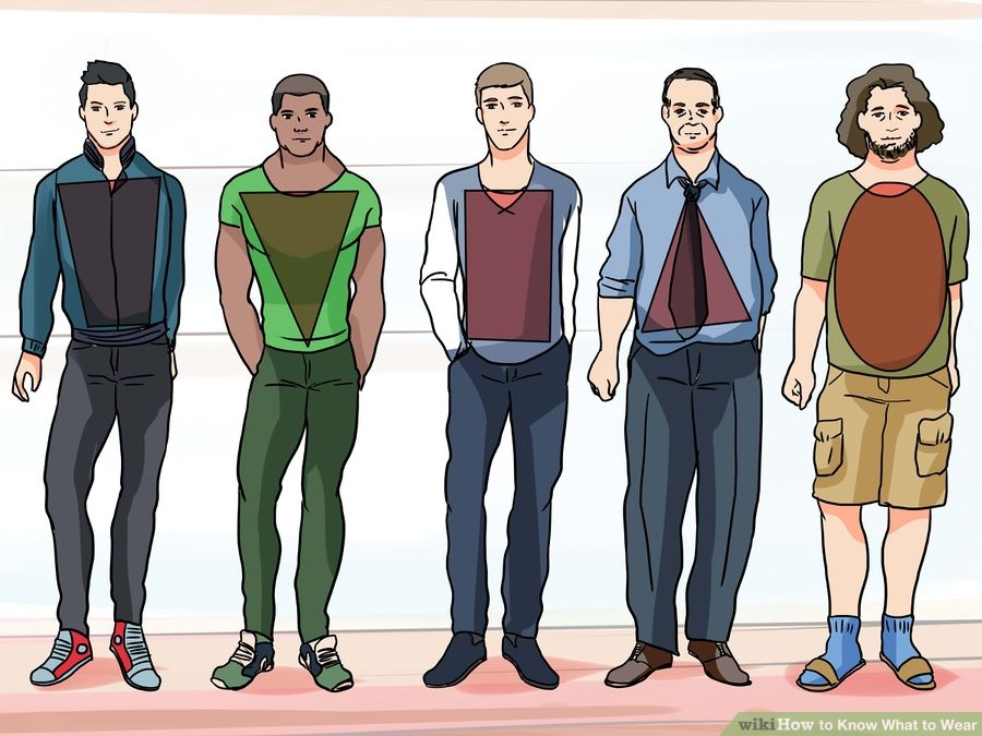 Beautiful Beings Identifying Your Male Body Type And Their Suitable