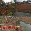 Pemdes Baturejo Anggarkan Dana Desa Untuk Normalisasi Sungai, Disoal Oleh Warga Setempat