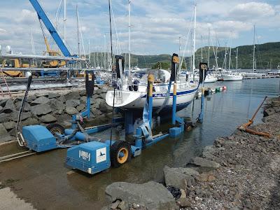 Scottish marinas