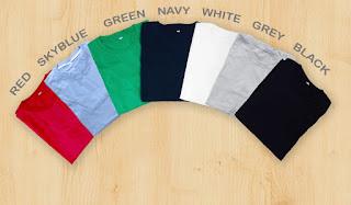 Kaos Polos Pria Kualitas Premium Cotton Combed 30s High quality, KPHQ1