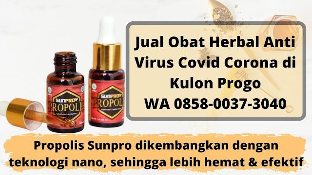 Jual Obat Herbal Anti Virus Covid Corona di Kulon Progo WA 0858-0037-3040