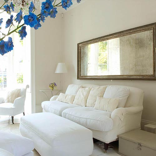 Decorating With Antiques: ...joy Of Nesting: DECORATING WITH ANTIQUE MIRRORS