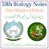 10th Class Biology KPK Board PDF Short Notes