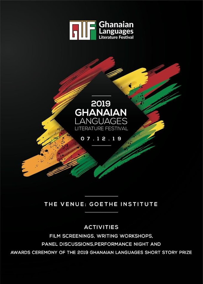 The 2019 Ghanaian Languages Literature Festival set for December 7