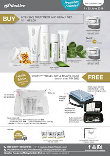 Promotion shaklee; shaklee labuan; shaklee kudat; shaklee beaufort; shaklee bongawan; shaklee papar; shaklee tawau; shaklee labuan; shaklee JB; shaklee Balik Pulau; Youth intensive and repair set; youth skin care