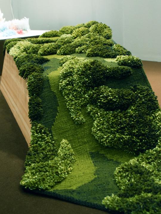 levande Grön - verk av Karina Süptitz | www.var-dags-rum.se