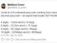 Hanya 11 Jam, Polisi Tebak 6 Digit Kunci iPhone