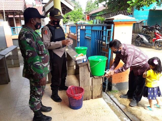 Danramil Tumbang Miri,  Jaga Soliditas Sesama Aparat dalam Pengamanan Natal