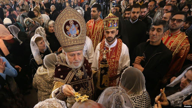 La Iglesia Apostólica Armenia celebra la Pascua