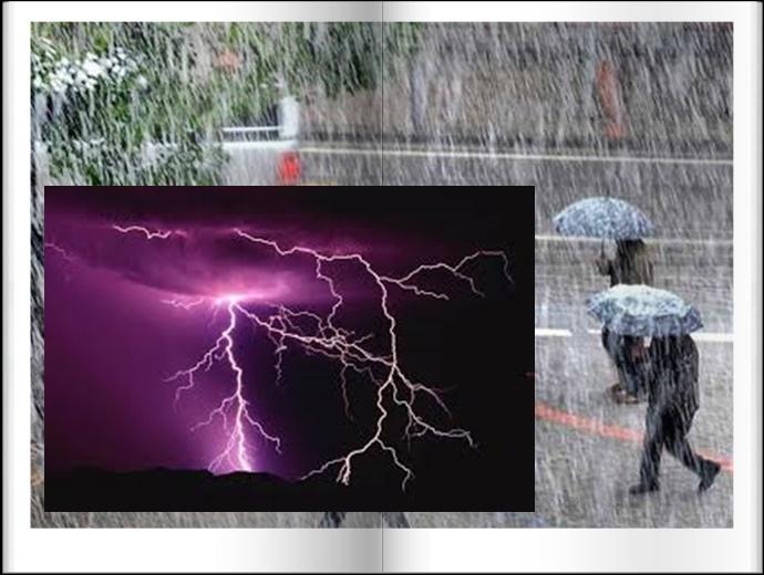 النشرة الخاصة .. عواصف رعدية شديدة مصحوبة ببرد في 22 ولاية اليوم