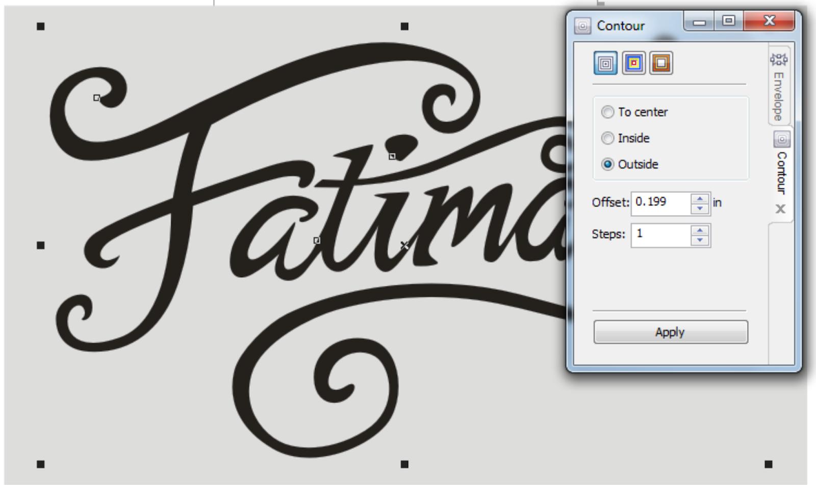 Cara Membuat Desain Logo Hand Lettering Dengan CorelDRAW ...
