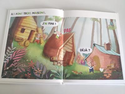 livre céline alvarez trois petits cochons les arènes