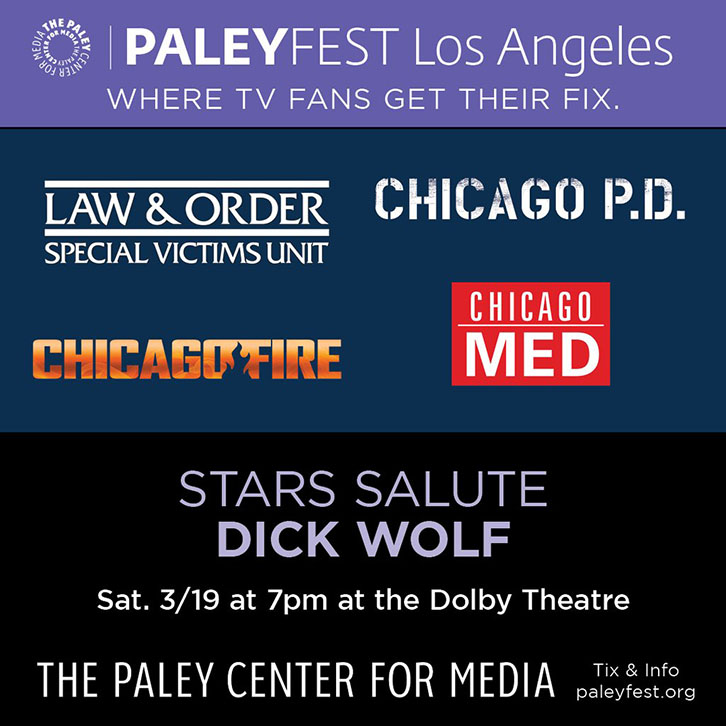 Questions for the Star Salute to Dick Wolf at PaleyFest