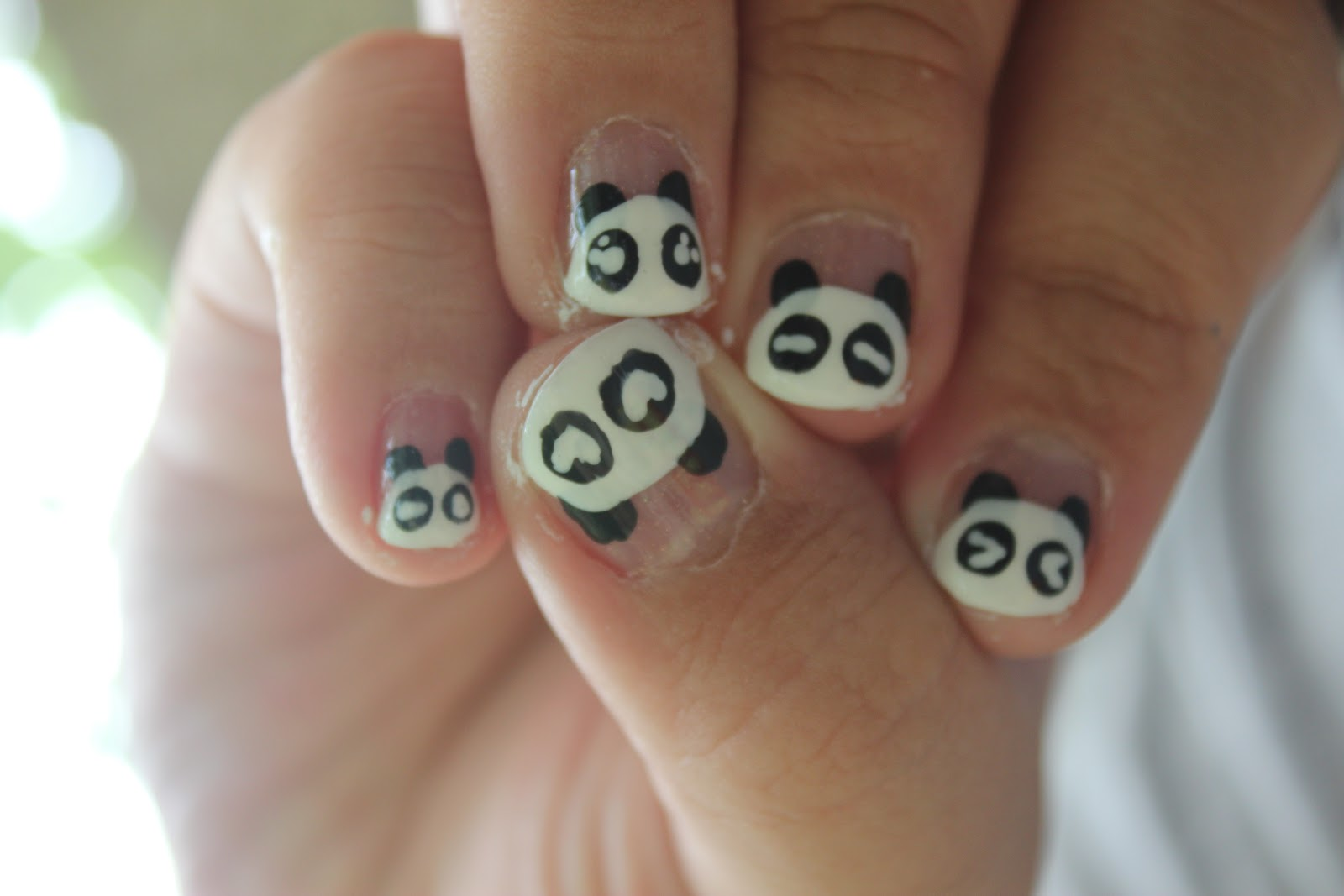 Baking Recipes And Nail Design All In One Panda Emotion