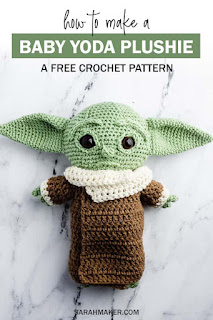 baby yoda crochet pattern free