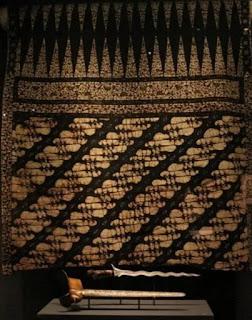 Batik Indonesia di Museum London
