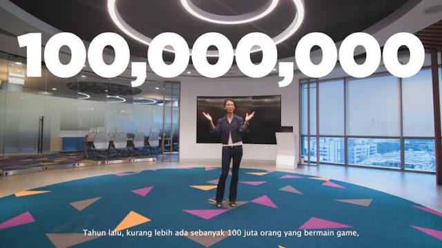 jumlah gamer di indonesia