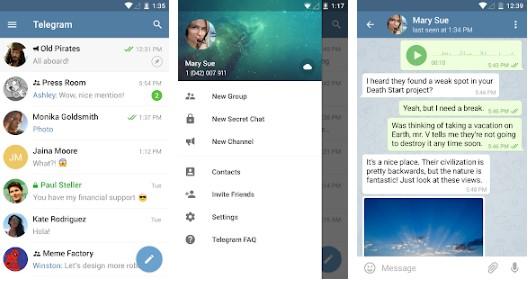 Telegram Apk for Android Latest Download - Appstoreandroid com