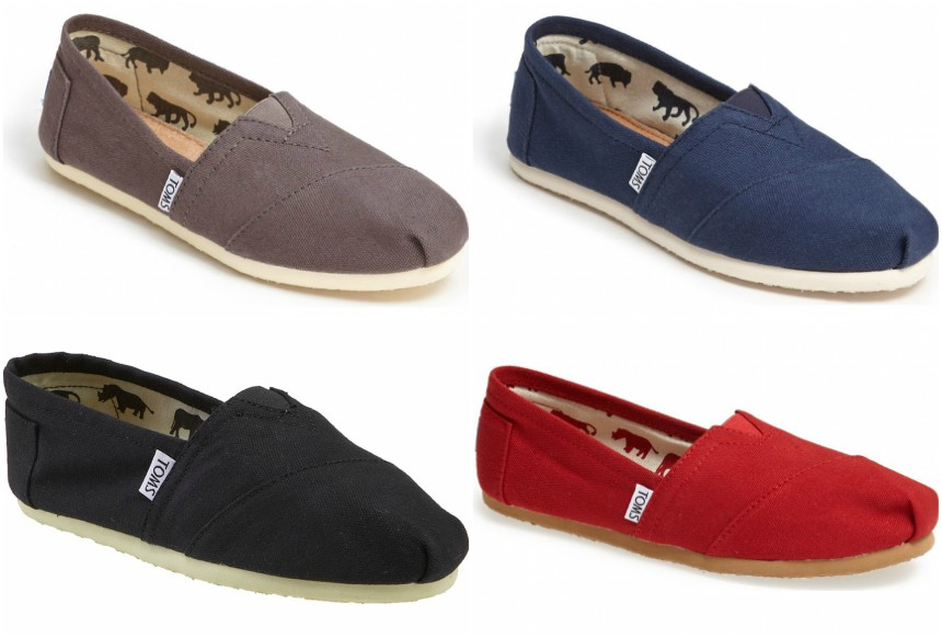 TOMS Classic Canvas Slip-Ons to only $36 (reg $48)