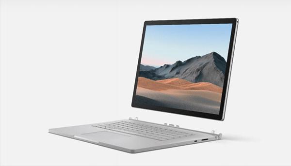 أعلنت اليوم شركة Microsoft على جهاز Surface Book 3  بمواصفات عالية