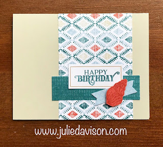 8 July 2019 Paper Pumpkin Alternative Projects: On My Mind Kit ~ www.juliedavison.com ~ Stampin' Up! Paper Pumpkin