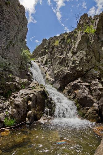 Cascada del Purgatorio Sierra Norte de Madrid