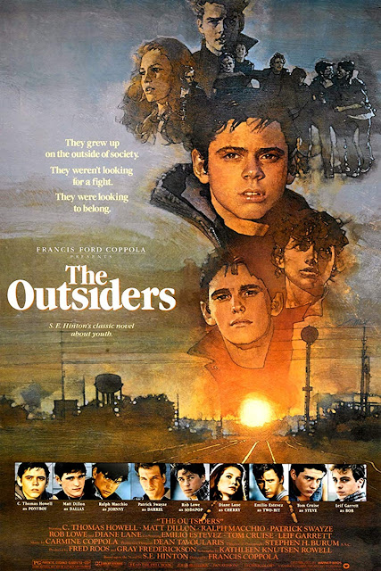 Póster película Rebeldes - The Outsiders