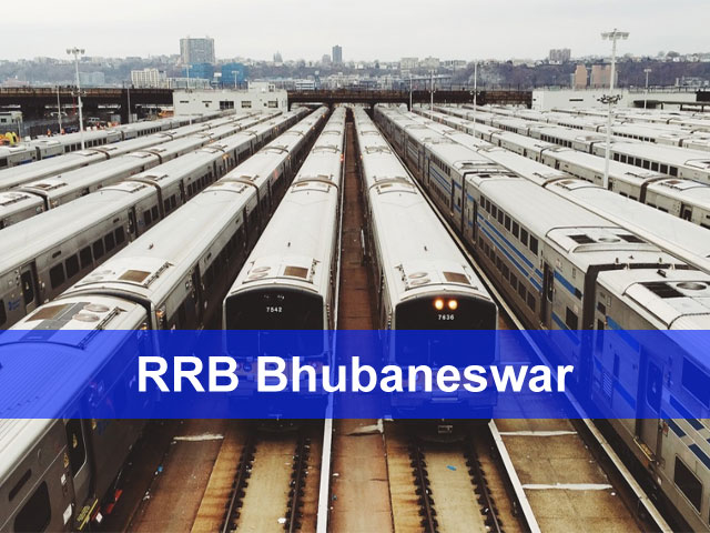 RRB Bhubaneswar Group D, Loco Pilot Application Status Exam Date 2018