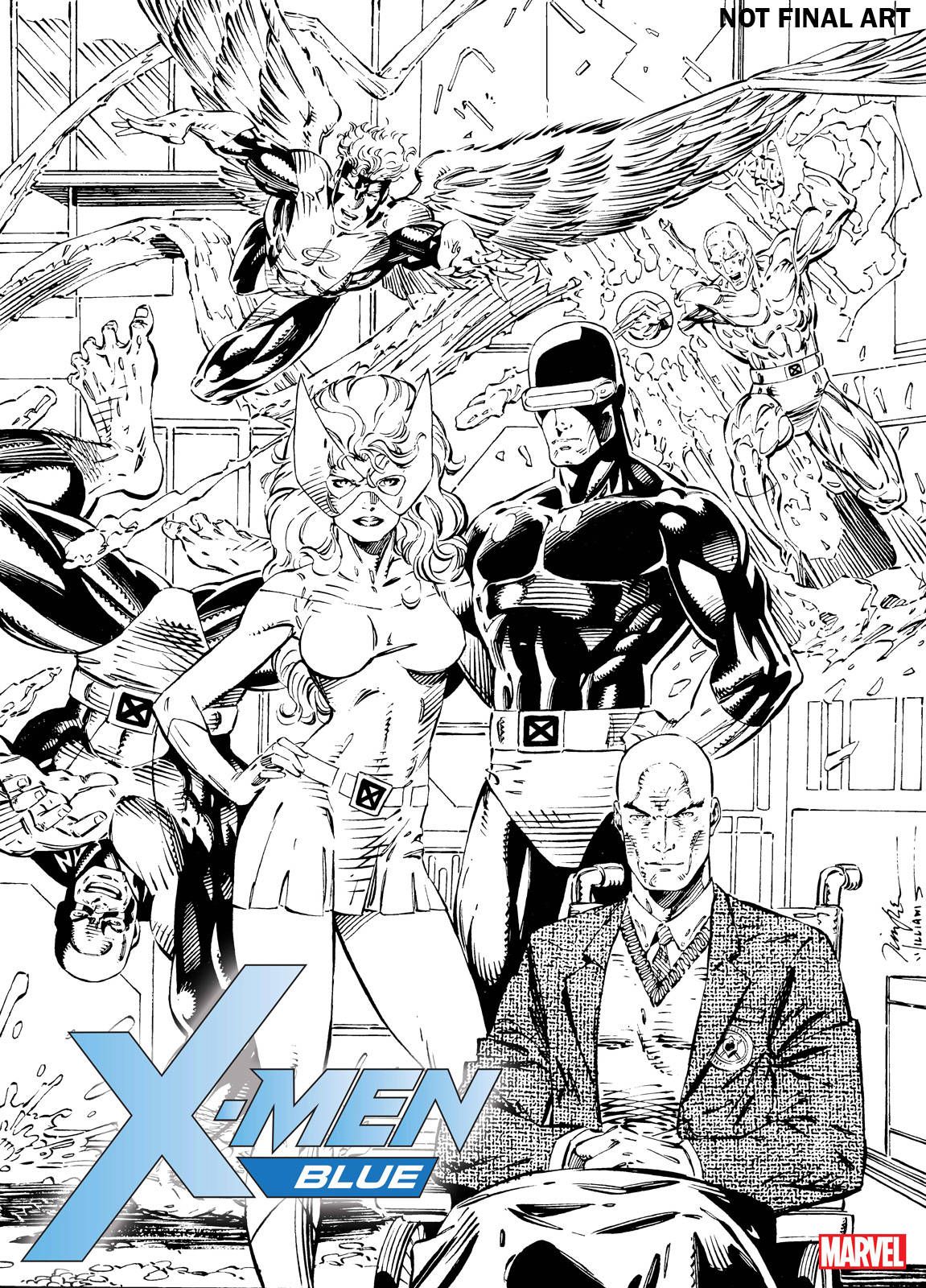 X-MEN BLUE & X-MEN GOLD