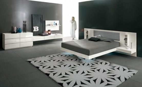 Hogares frescos 14 dormitorios minimalistas y frescos - Diseno interior minimalista ...