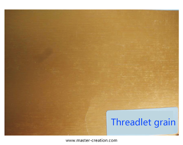 threadlet grained paper
