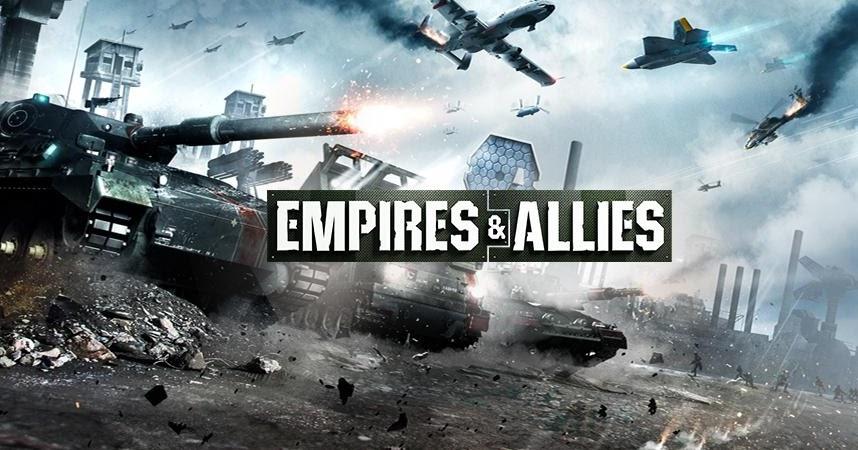 تحميل لعبة empires & allies للكمبيوتر