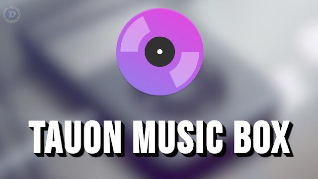 Tauon Music Box é o player para quem gosta de minimalismo