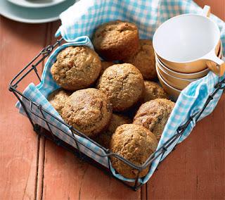 Spicy Bran and Goji Berry Muffins Recipe