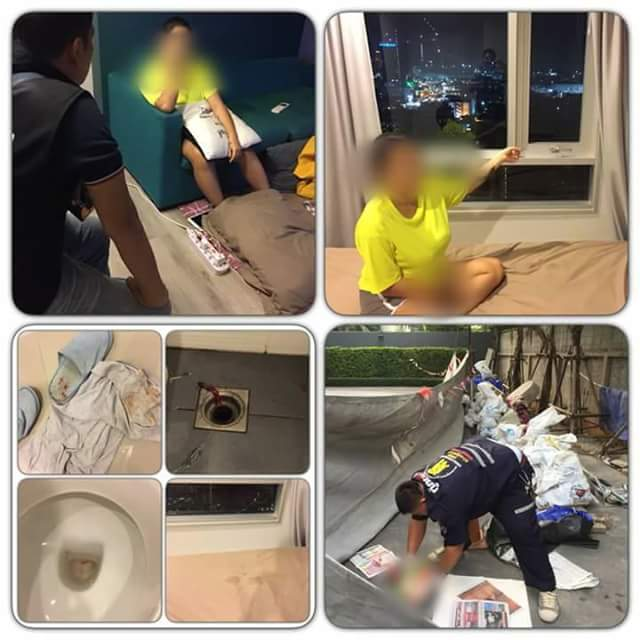 Photos: Mother throws her newborn baby to his death from 17th floor of condo to spite her married ex-boyfriend who abandoned her