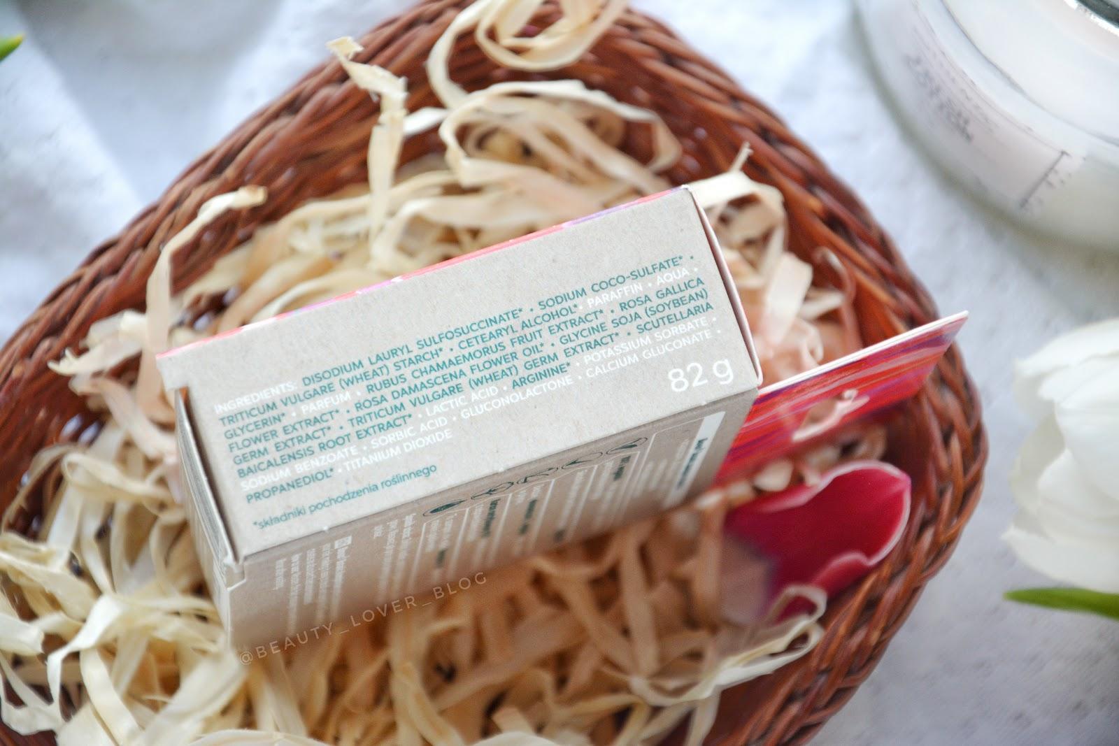 L'biotica Biovax Malina Moroszka & Olej z Róży- skład