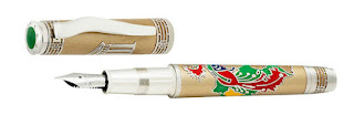 Omas Phoenix Platinum – Fountain Pen Luxury Limited Edition with Diamonds,world top most expensive pens