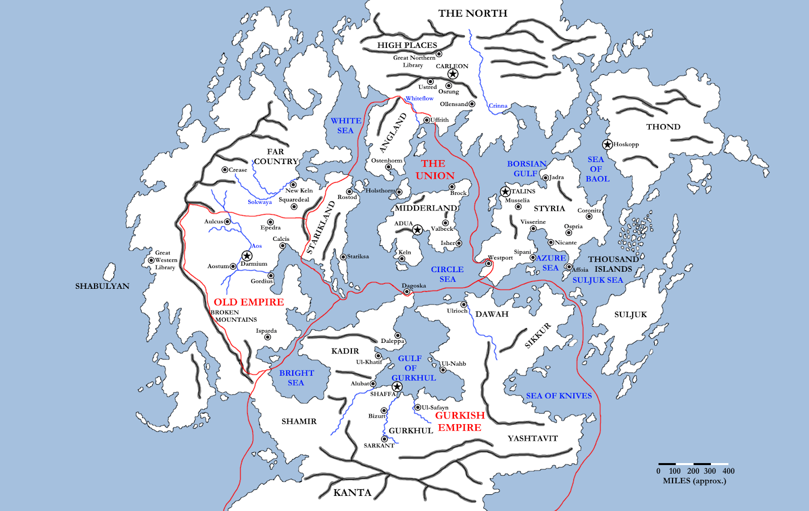 The Wertzone: Updated Timeline and Map from Joe ... on salem world map, tolkien world map, the witcher world map,
