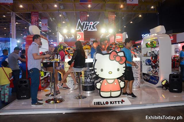 NHK Helmets Exhibition Stand